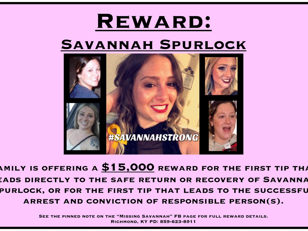 Savannah Spurlock's family is still looking for answers, offering a reward