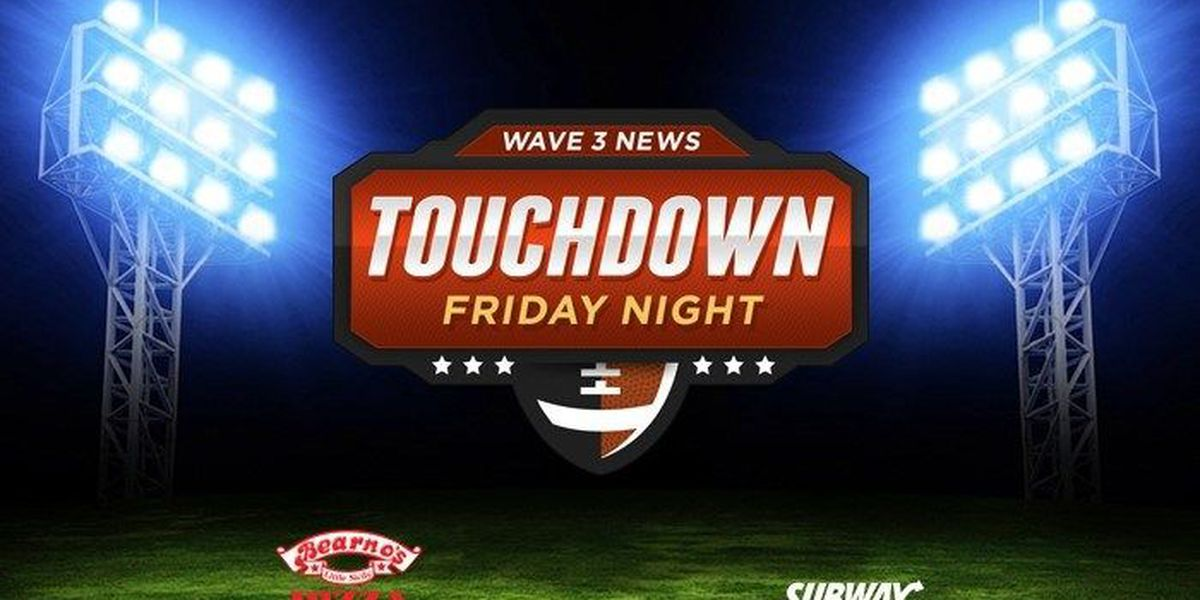 Touchdown Friday Night - Week #6 Schedule