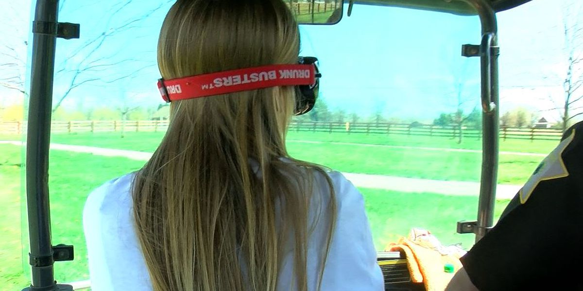 High school students get hands-on teaching on dangers of drunk driving