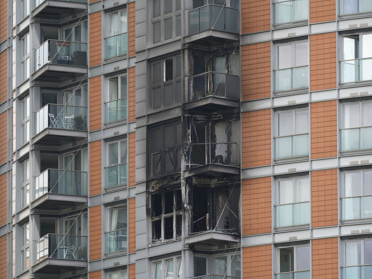 London high-rise blaze raises new concerns about cladding