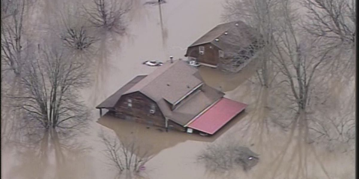 IMAGES: Aerials of flooding in WAVE Country