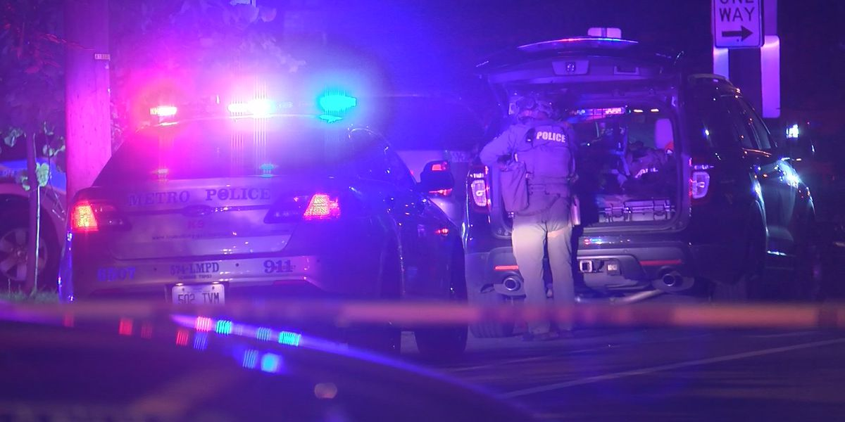 UPDATE: LMPD officer grazed by bullet during shooting