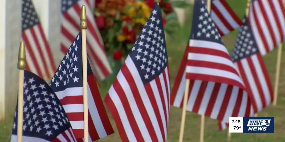Belated honors given to 65 veterans who passed during the pandemic