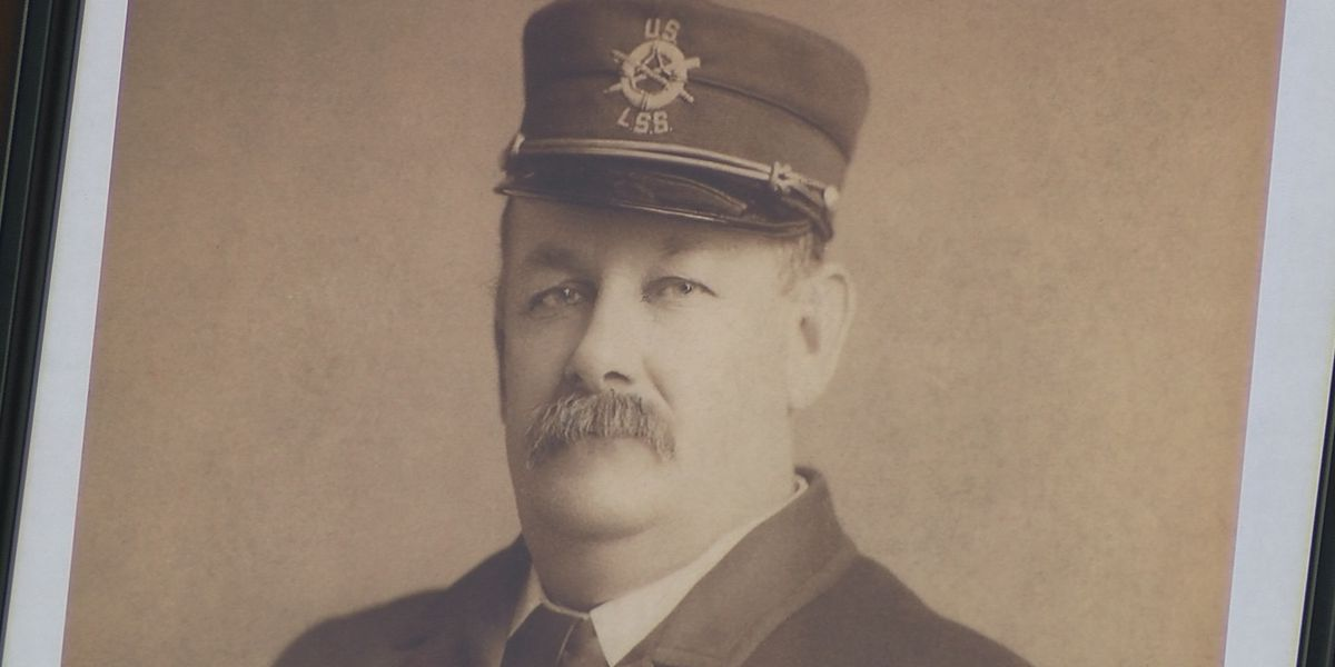 US Coast Guard honors first Keeper of US Lifesaving Station