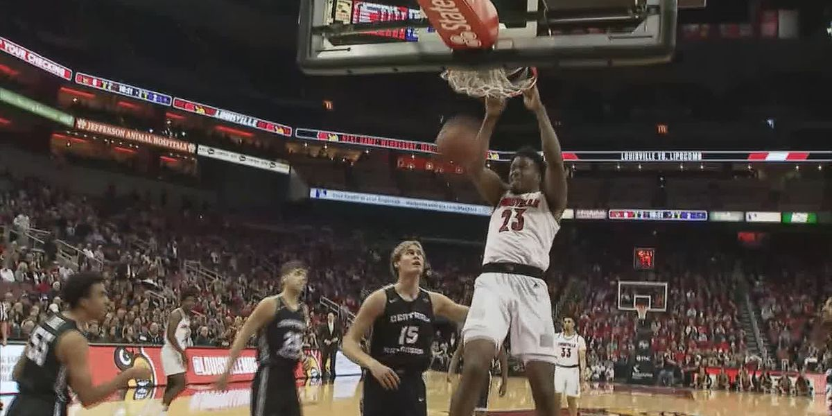Enoch, Nwora and King lead Cards to 86-41 win over Central Arkansas