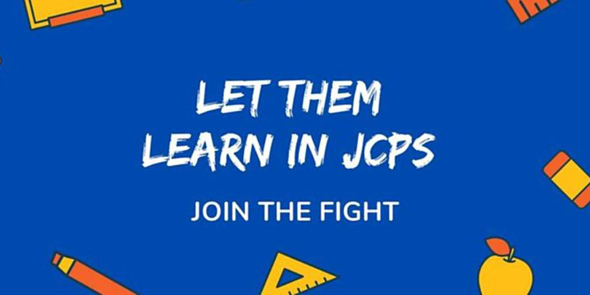 'Let Them Learn': More than 1,300 JCPS parents want in-person learning option for kids