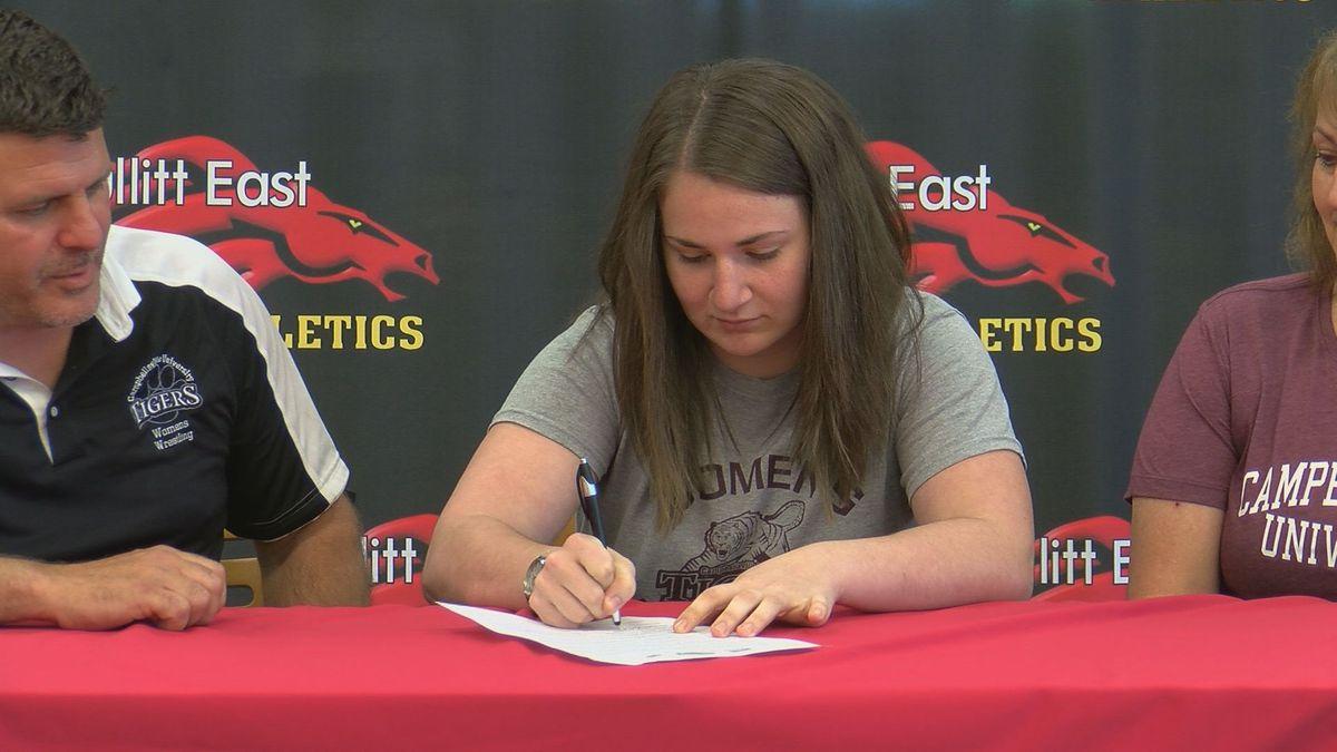 Bullitt East star O'Neill signs with Campbellsville women's wrestling