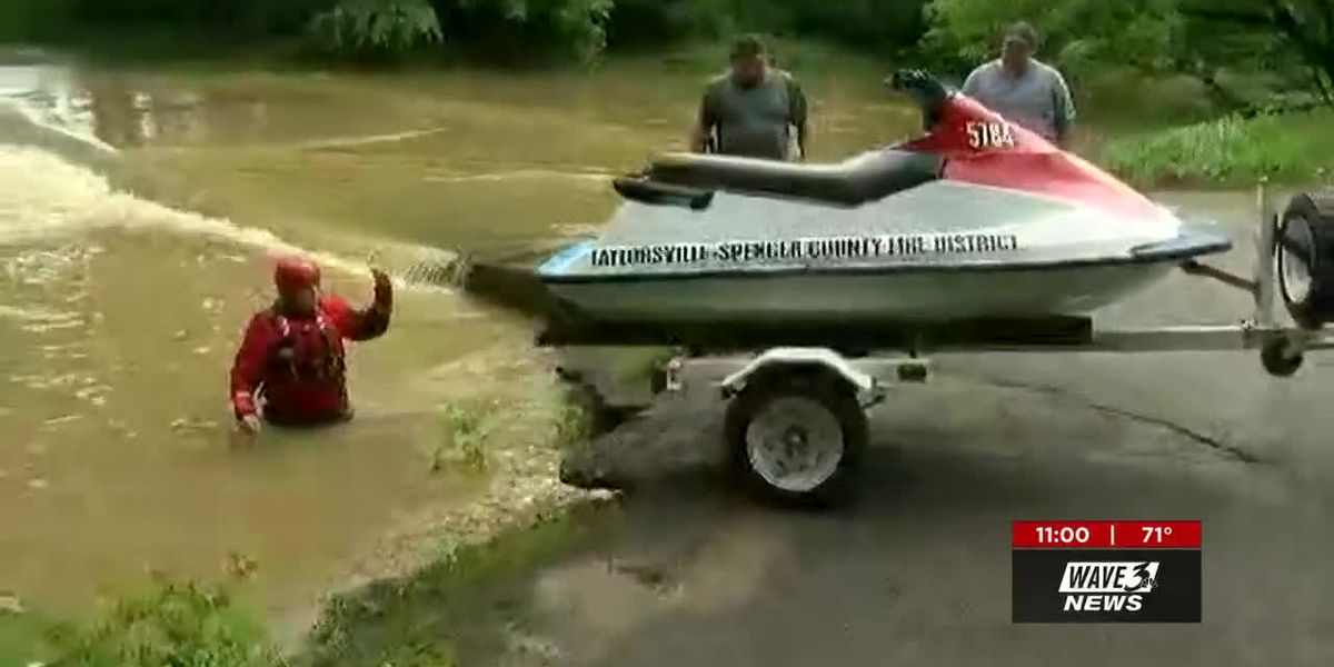 Body recovered from flood waters in Spencer County