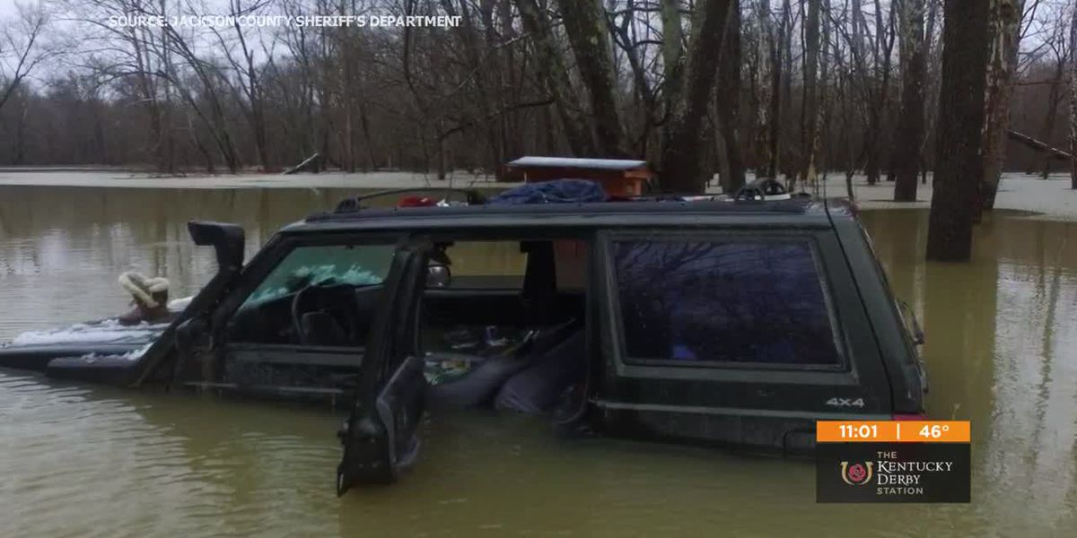 5 people rescued from rural Indiana after 14 hours in cold when Jeep got stranded