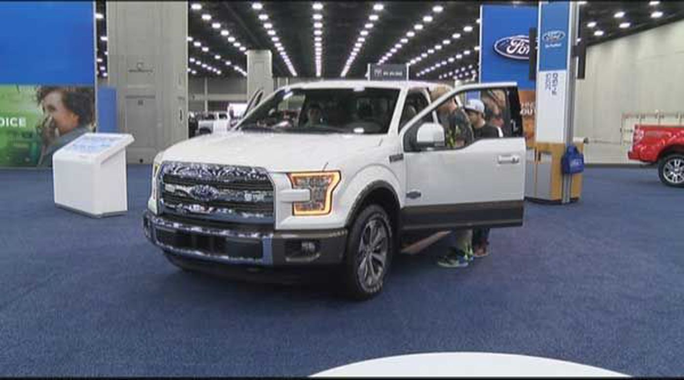 Ford Unveils F At Louisville Show - Louisville car show