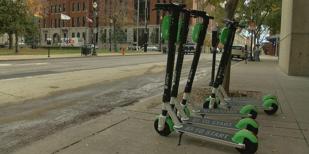 Fleet of green scooters hit streets of Louisville