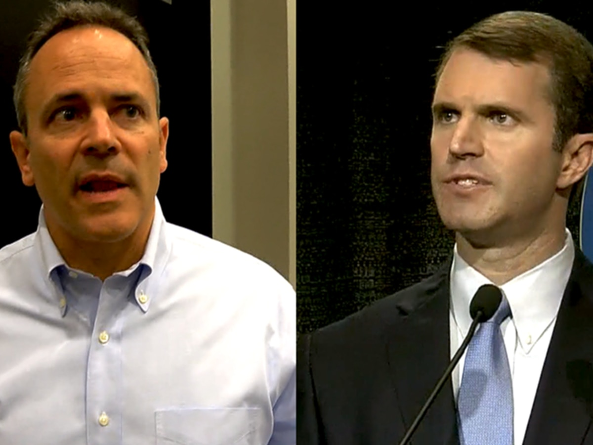 Official recanvass numbers show Beshear beat out Bevin by more than 5,000 votes