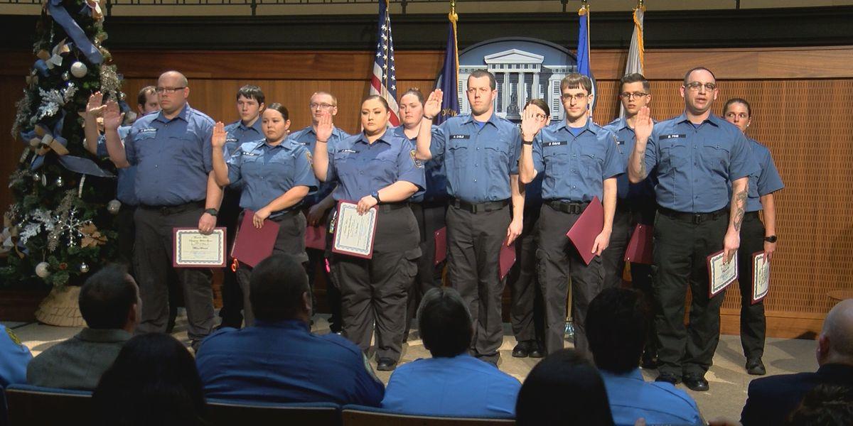 Louisville Metro EMTs celebrate graduation