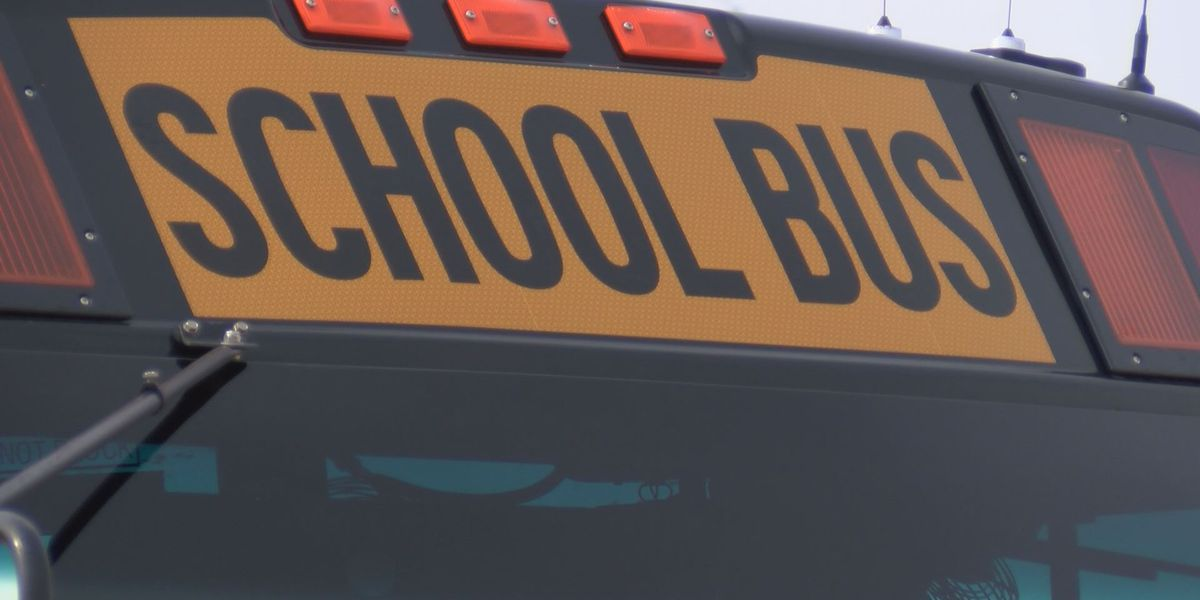 GCCS buses slide off roadway during field trip