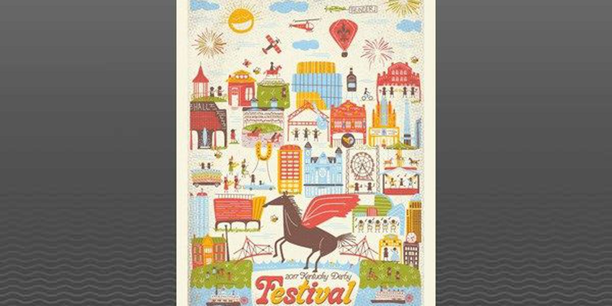 2017 Kentucky Derby Festival poster unveiled