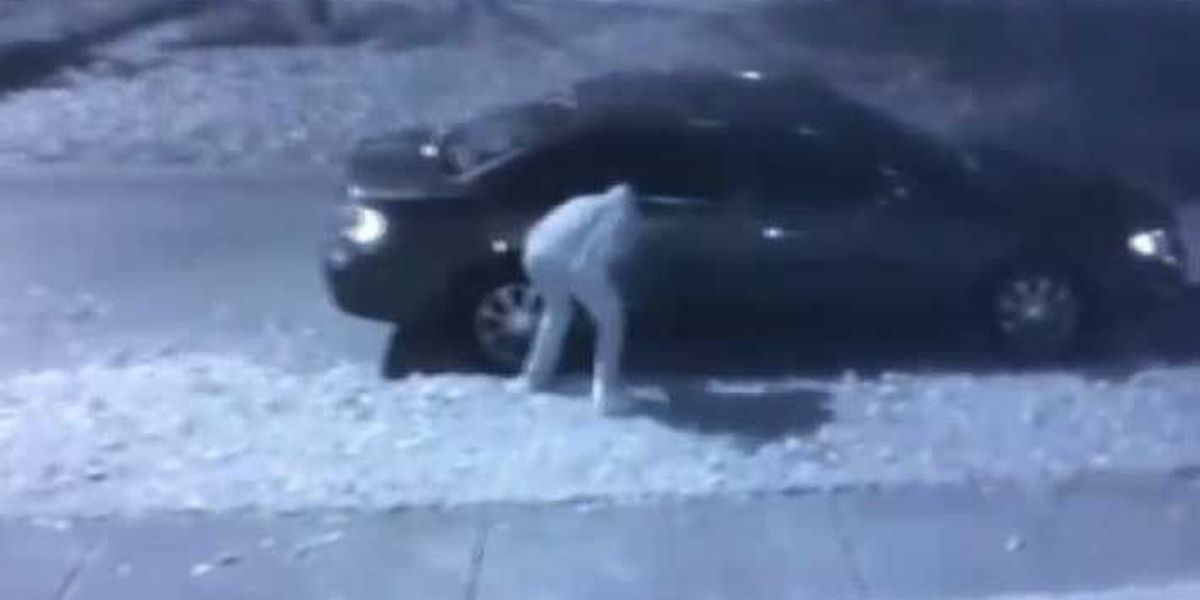 CAUGHT ON CAM: Tire slashing suspect hits Louisville neighborhood