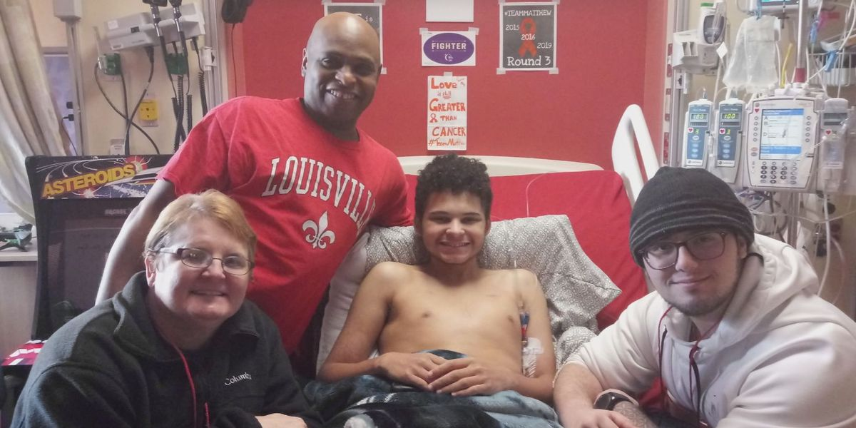Louisville teen fighting third cancer battle