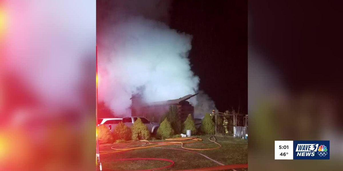 At least 1 dead following Floyd County house fire
