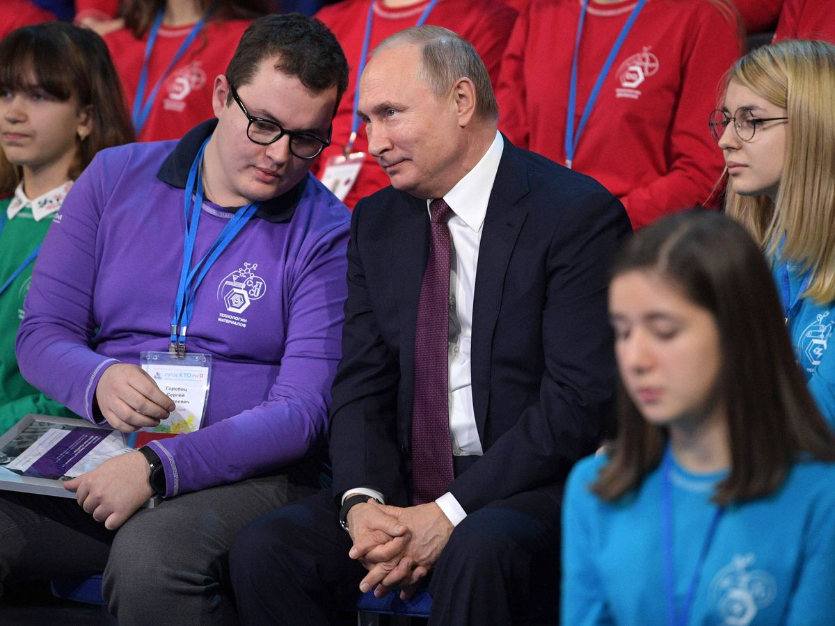 Putin says rap should be controlled in Russia, not banned