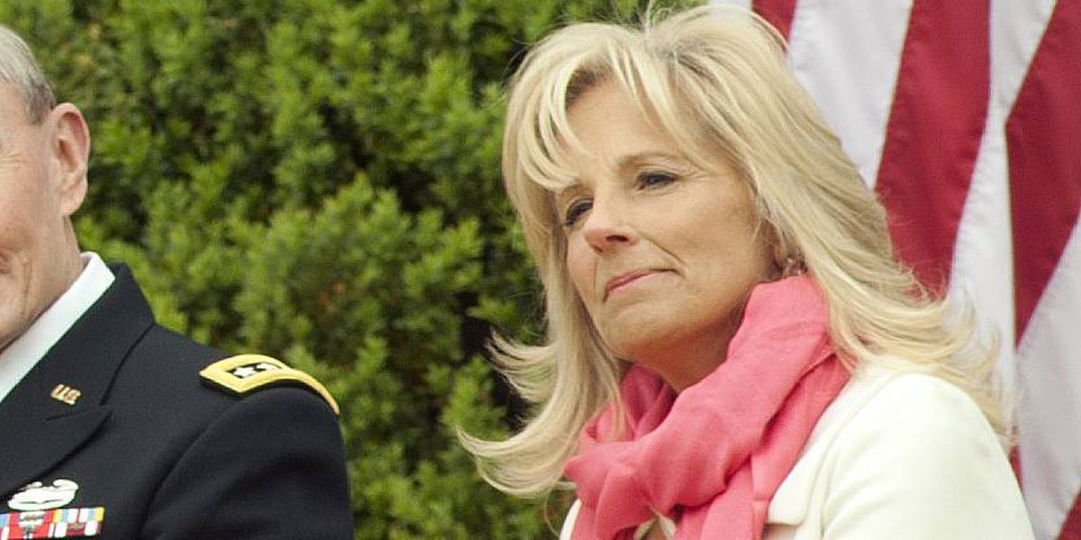 Jill Biden pushes free access to community college, training