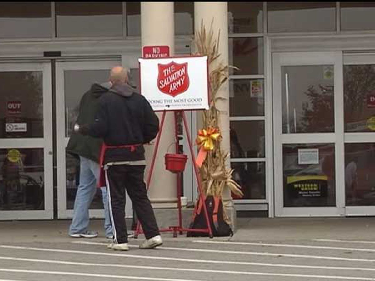 Salvation Army hiring bell ringers for Red Kettle Campaign