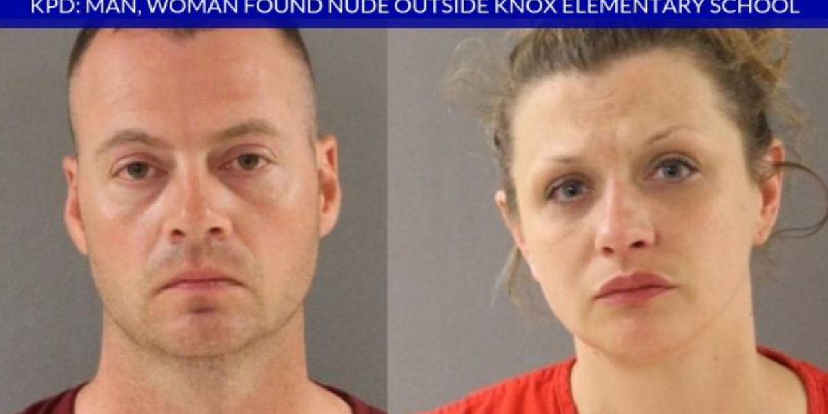 Tennessee couple caught having sex outside elementary school