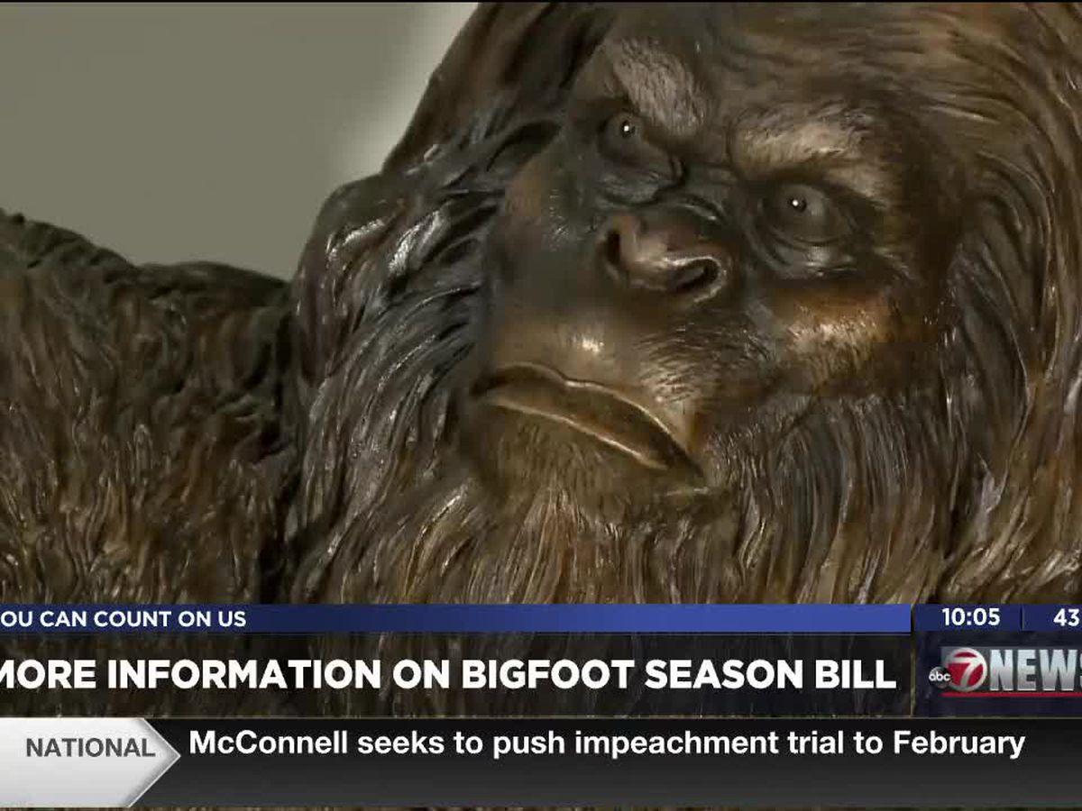 Oklahomans may soon get to participate in Bigfoot hunting season