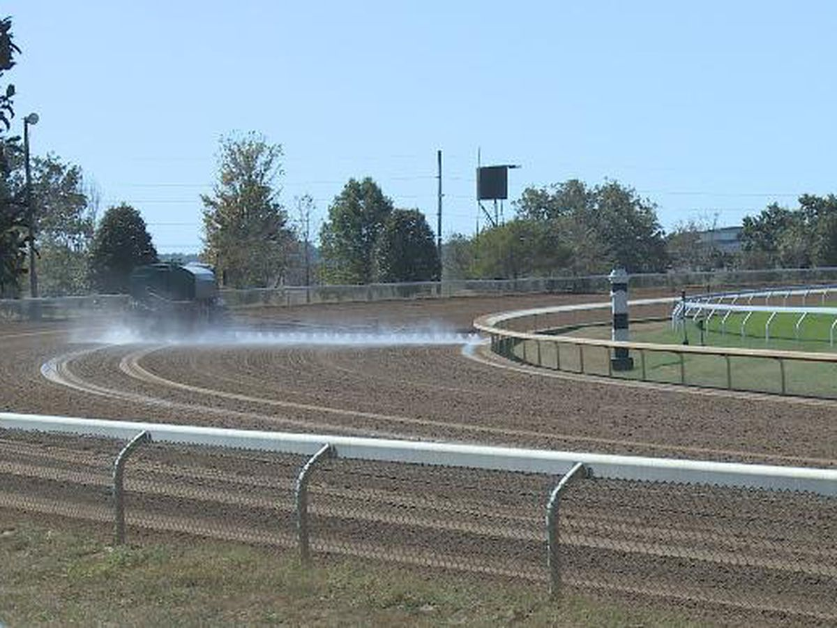 Dry weather causing Keeneland to take extra precautions ahead of Fall Meet