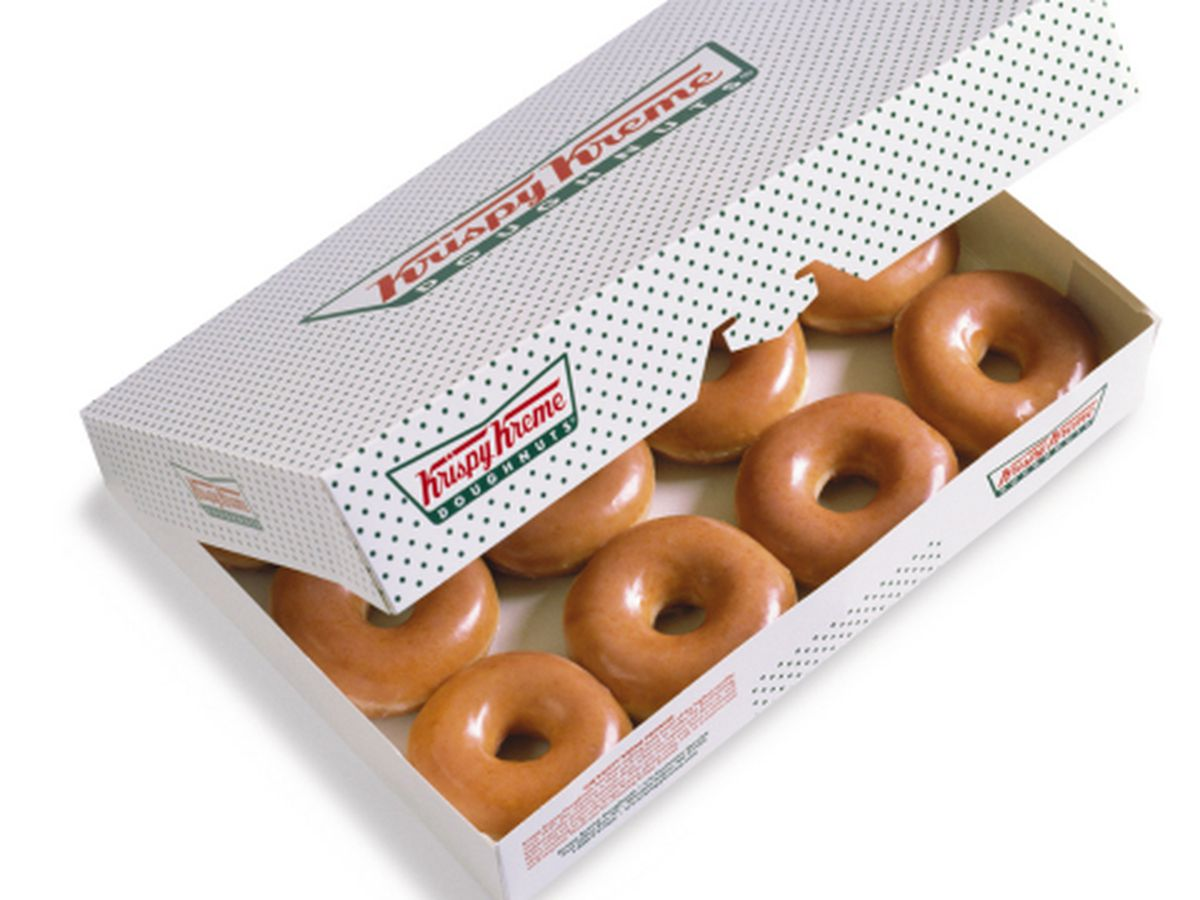 Here's how you can get a dozen Krispy Kreme doughnuts for $1