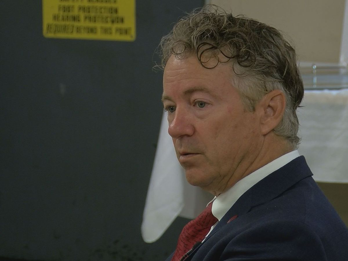 Sen. Rand Paul discusses immigration, tariffs, local business