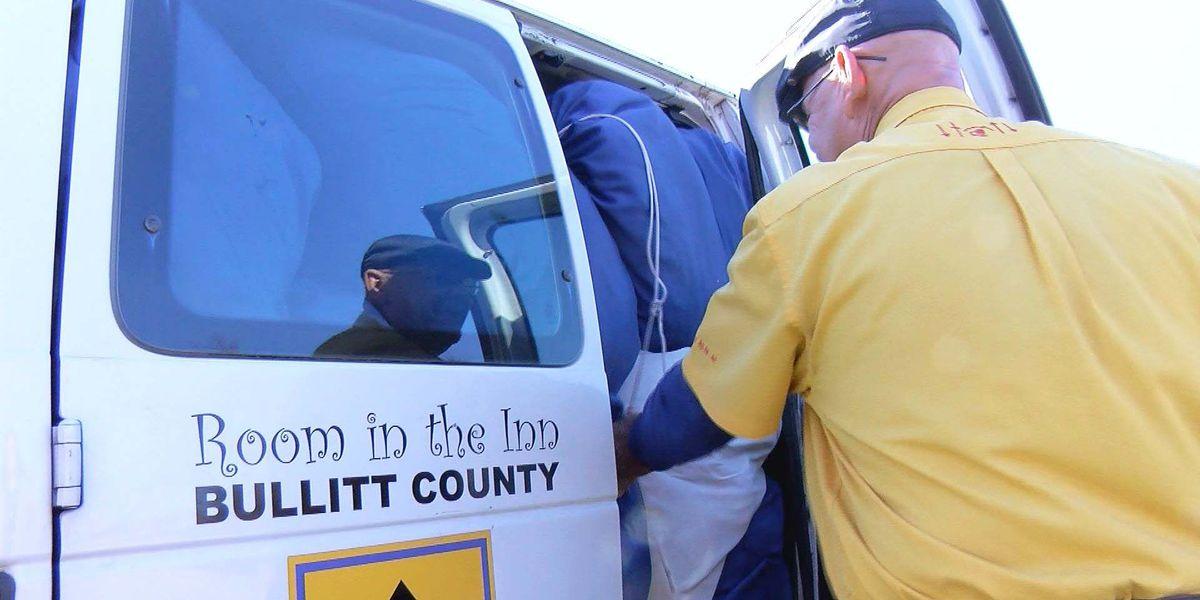 Limited options for the homeless in Bullitt County