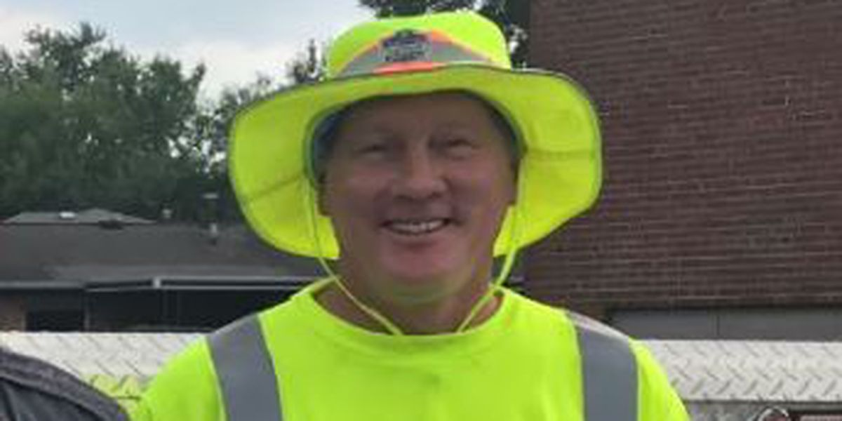 Louisville Water Company employee killed at worksite honored during funeral procession
