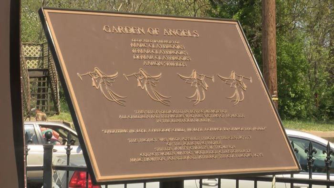 Garden of Angels Memorial makeover begins