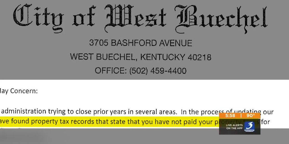 Taxation without verification causing a mess for homeowners in West Buechel