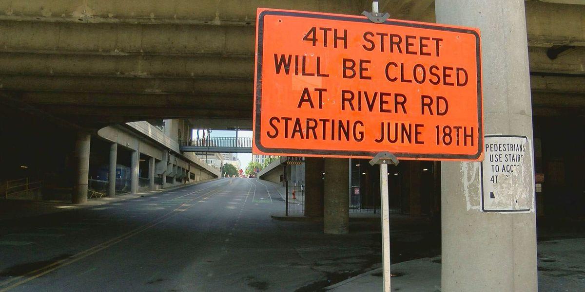 MSD begins major repair work in downtown Louisville