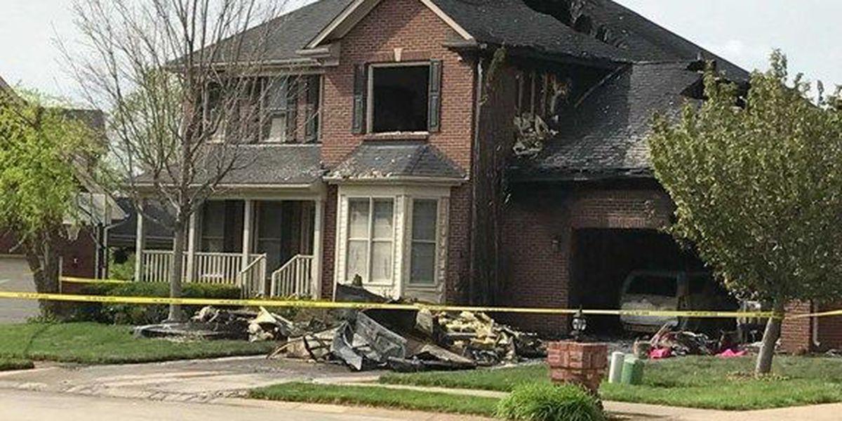 Crews on scene of house fire