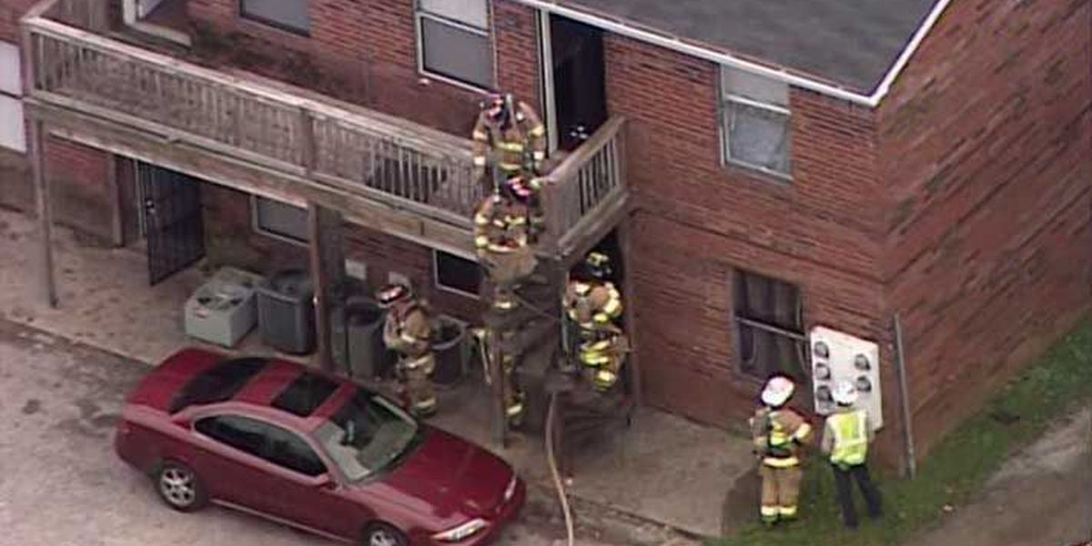 Buechel area apartment fire quickly extinguished
