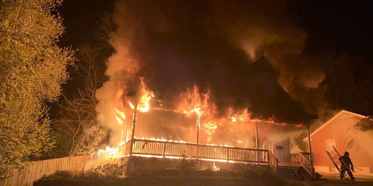 Fire damages home in Audubon neighborhood