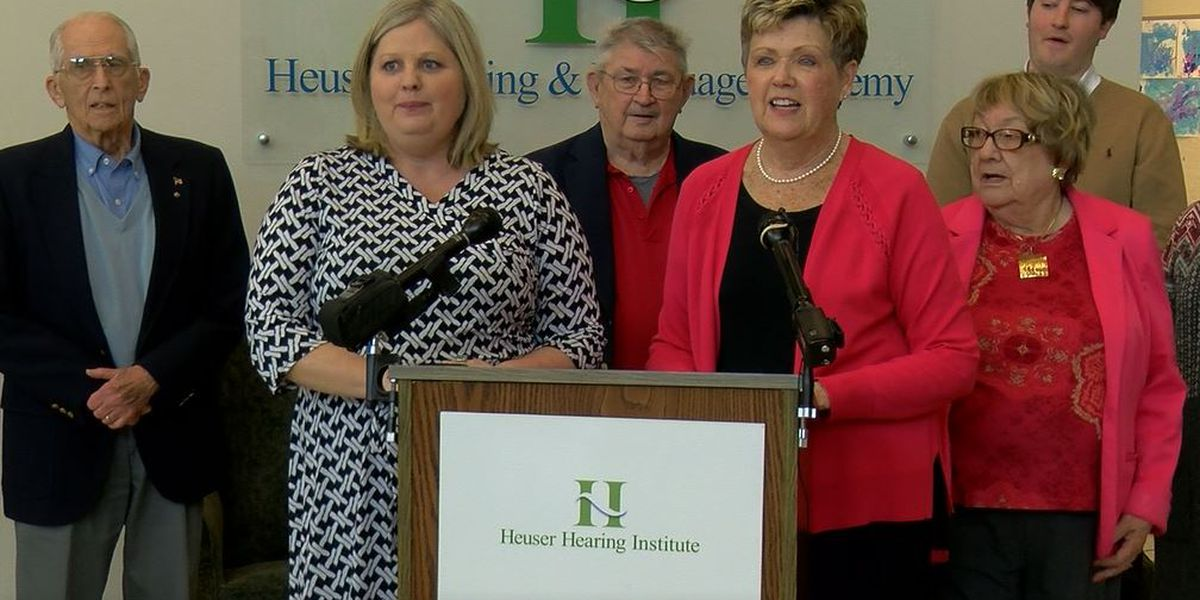 Heuser Hearing & Language Academy gets $200,000 gift