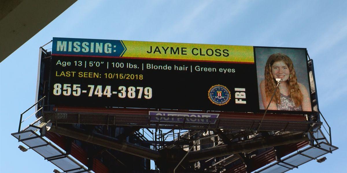 Billboard for missing Wisconsin girl appears near Slugger Field