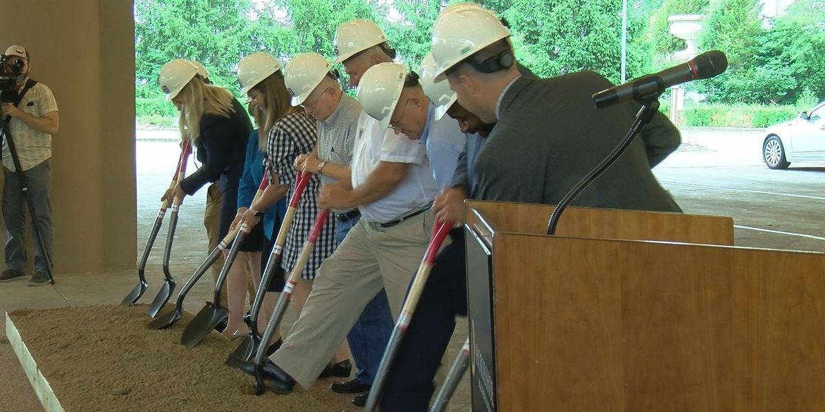 Casino breaks ground on site that will anchor it to southern Indiana