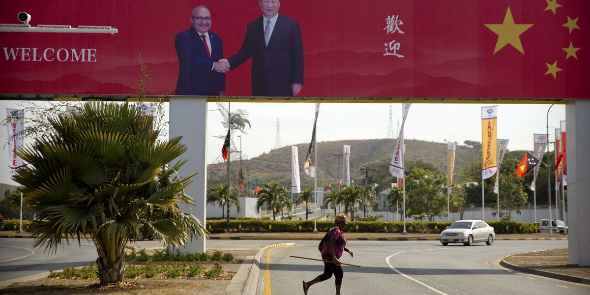 China woos Pacific islands with loans showcase projects