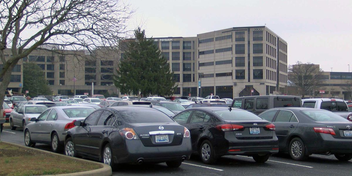 Report of gunfire in hospital parking lot under investigation