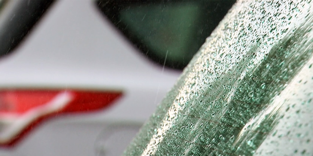 Hazardous travel possible this afternoon as heavy snow moves in