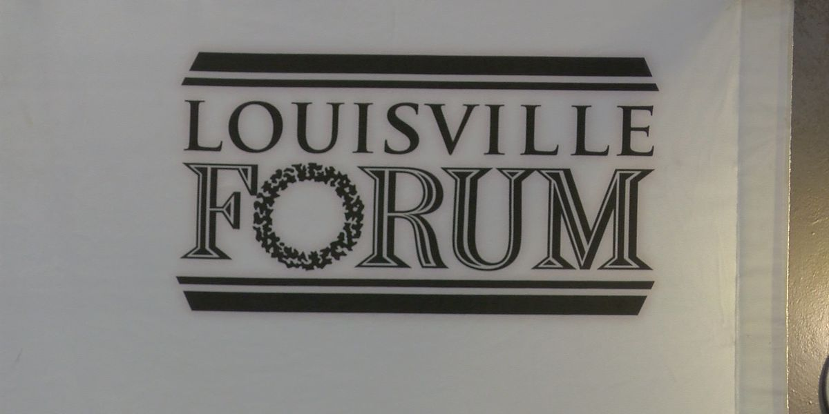 Louisville Forum hosts monthly public issue discussion