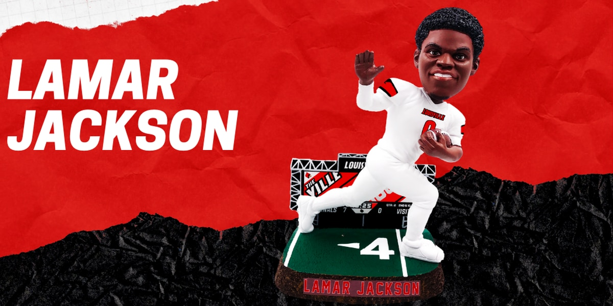 Lamar Jackson headed to National Bobblehead Hall of Fame