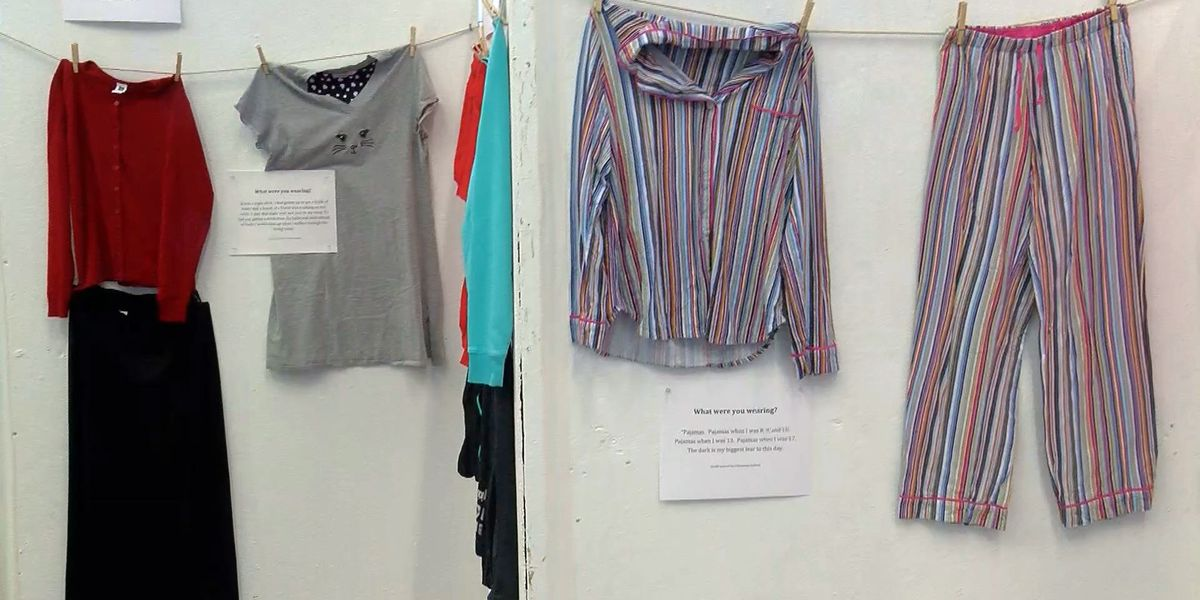 'What Were You Wearing?' showcases clothing of sexual assault victims