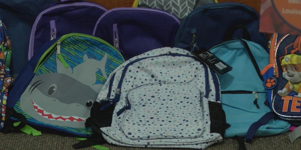 Local gyms go head to head collecting backpacks and supplies for JCPS students