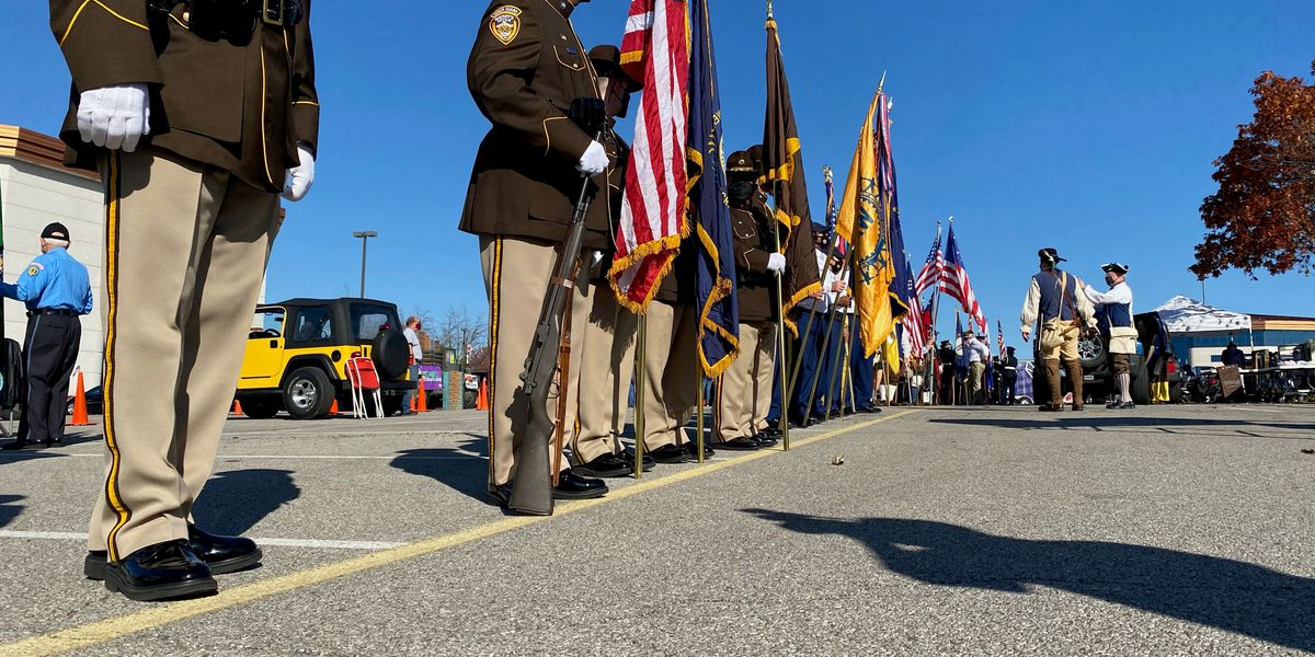 WATCH : Kentucky Veterans Day Parade 2020 rolls in reverse as vets welcomed home