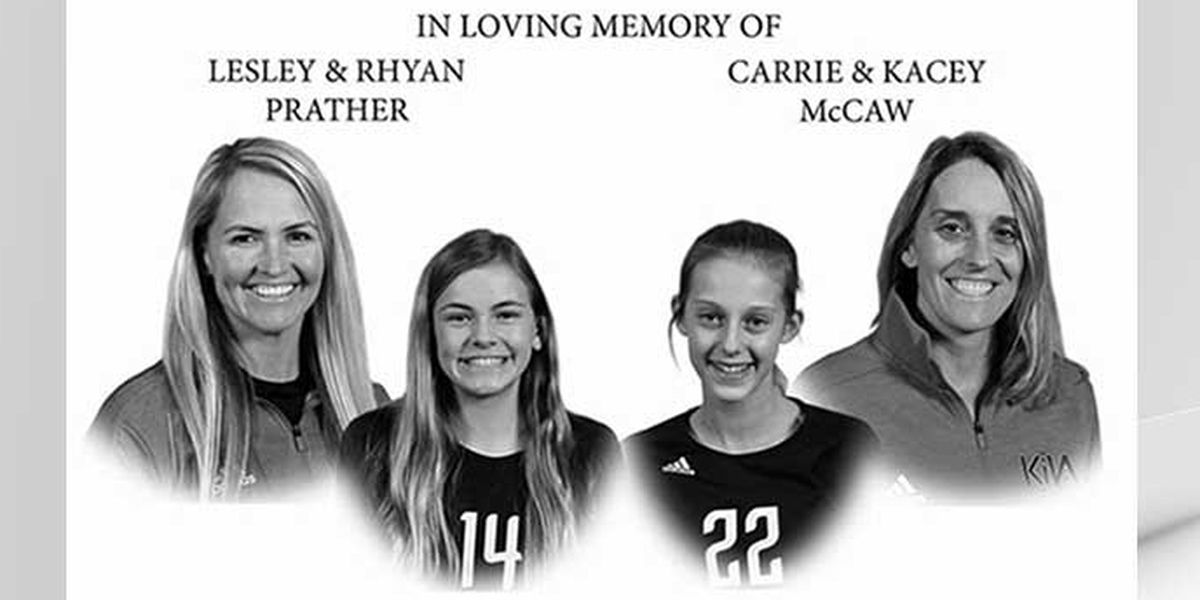 Two Louisville moms, daughters killed in crash one year ago honored through foundation, scholarship